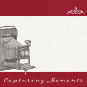 Reminisce Capturing Moments Journal Card 4x4