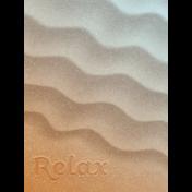 Coastal Spring Relax Journal Card 3x4