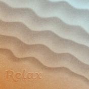 Coastal Spring Relax Journal Card 4x4