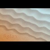 Coastal Spring Relax Journal Card 4x6