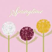 Delightful Days Journal Card- Springtime 4x4