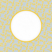 Delightful Days Journal Card- Vines 4x4