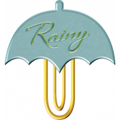 Singin' In The Rain Elements- Umbrella Paperclip