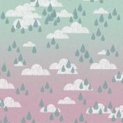 Singin' In The Rain Mini Kit- Rain Clouds Paper