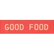 Veggie Table Elements - Good food