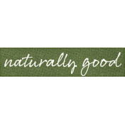 Veggie Table Elements- Naturally Good