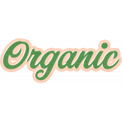 Veggie Table Elements- Organic
