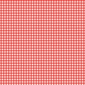 Veggie Table Papers- Country Gingham
