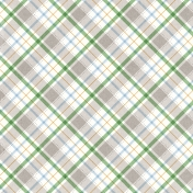 Veggie Table Papers- Plaid