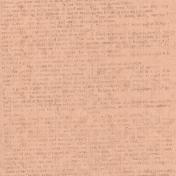 Veggie Table Papers- Newspaper