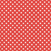 Veggie Table Papers- Polka Dots