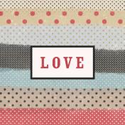 Old Farmhouse Love Journal Card 4x4