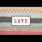 Old Farmhouse Love Journal Card 4x6