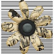 Old Farmhouse Paper Flower