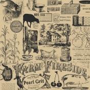 Old Farmhouse Farm Paper