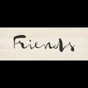 Old Farmhouse Friends Word Art
