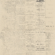 The Whole Story Vintage Newsprint Paper