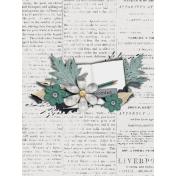 The Whole Story Newsprint Journal Card 3x4