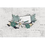 The Whole Story Newsprint Journal Card 4x6