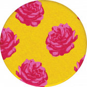 Bohemian Sunshine Element Roses Sticker