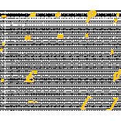 Bohemian Sunshine Yellow Alpha Sheet Symbols 02