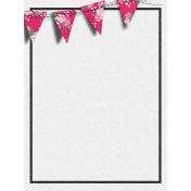 Bohemian Sunshine Banner 3x4 Journal Card