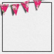 Bohemian Sunshine Banner 4x4 Journal Card