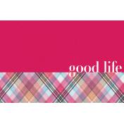Bohemian Sunshine Good Life 4x6 Journal Card
