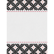 Bohemian Sunshine Scallop 3x4 Journal Card