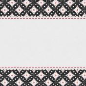 Bohemian Sunshine Scallop 4x4 Journal Card
