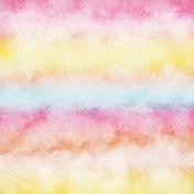 Bohemian Sunshine Clouds Paper