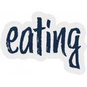 This Beautiful Life Eating Word Art