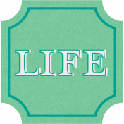 This Beautiful Life- Life Word Art