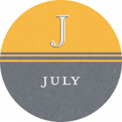 This Beautiful Life July Word Art
