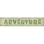 Into The Wild Adventure Word Art