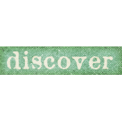 Into The Wild Discover Word Art