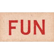 Jack & Jill Fun Word Art Snippet