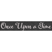 Jack & Jill Once Upon a Time Word Art Snippet