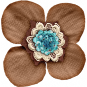Copper Spice Tan Flower