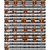 Copper Spice Alpha Letters- Copper