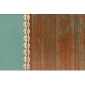 Copper Spice Wood Lace 4x6 Journal Card