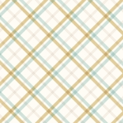Snowhispers Stitched Plaid Paper