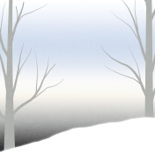 Winter Solstice Trees Day Paper