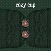 Sweaters & Hot Cocoa Cozy Cup Journal Card 4x4