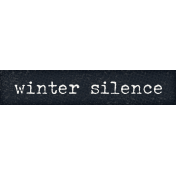 Winter Solstice Snippet Winter Silence