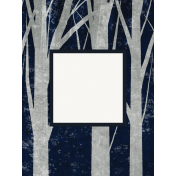 Winter Solstice Trees 3x4 Journal Card