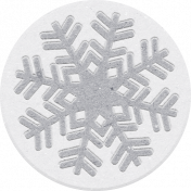 Sweaters & Hot Cocoa Snowflake Flair