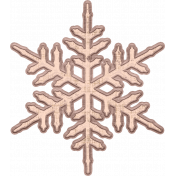 Sweaters & Hot Cocoa Snowflake 3