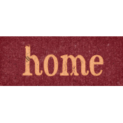 Sweaters & Hot Cocoa Home Word Art