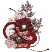 Sweaters & Hot Cocoa Cluster 4 With Shadow